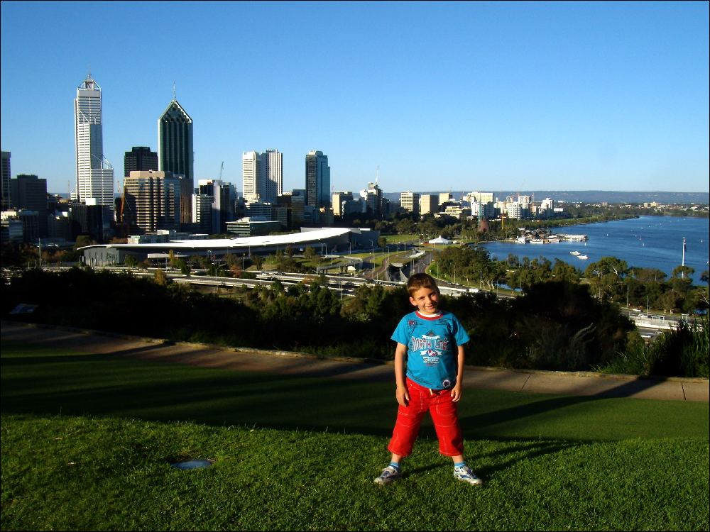 Perth vista dal Kings Park