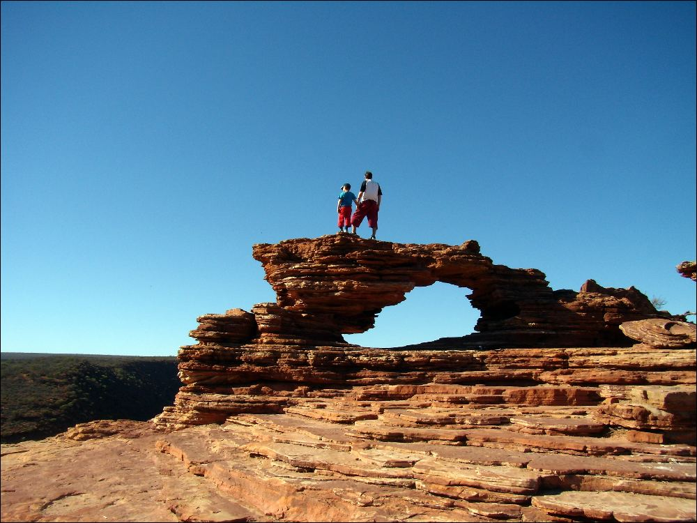 Kalbarri, Natural Bridge