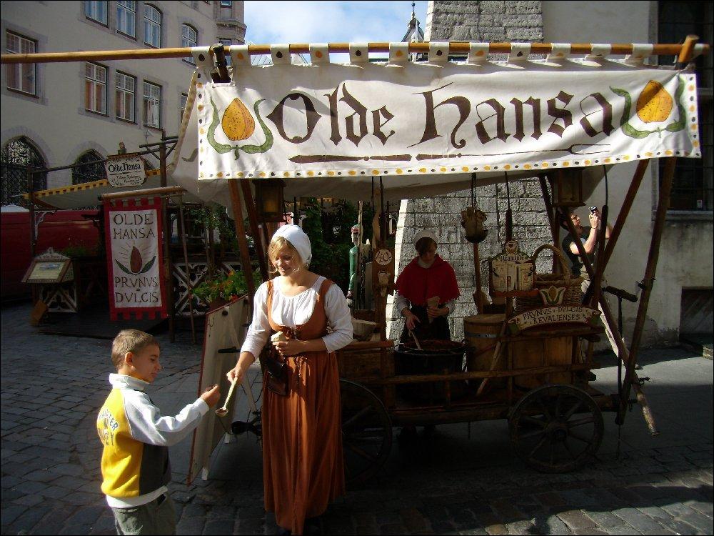 Bancarelle a Tallin