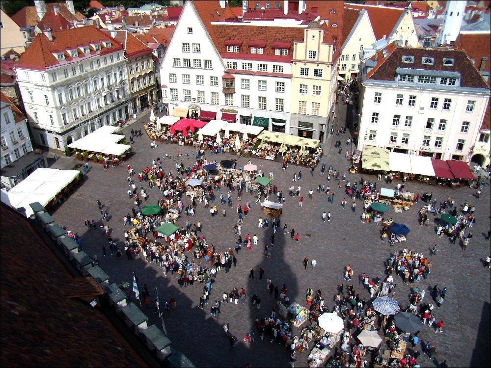 Vista dalla Town Hall