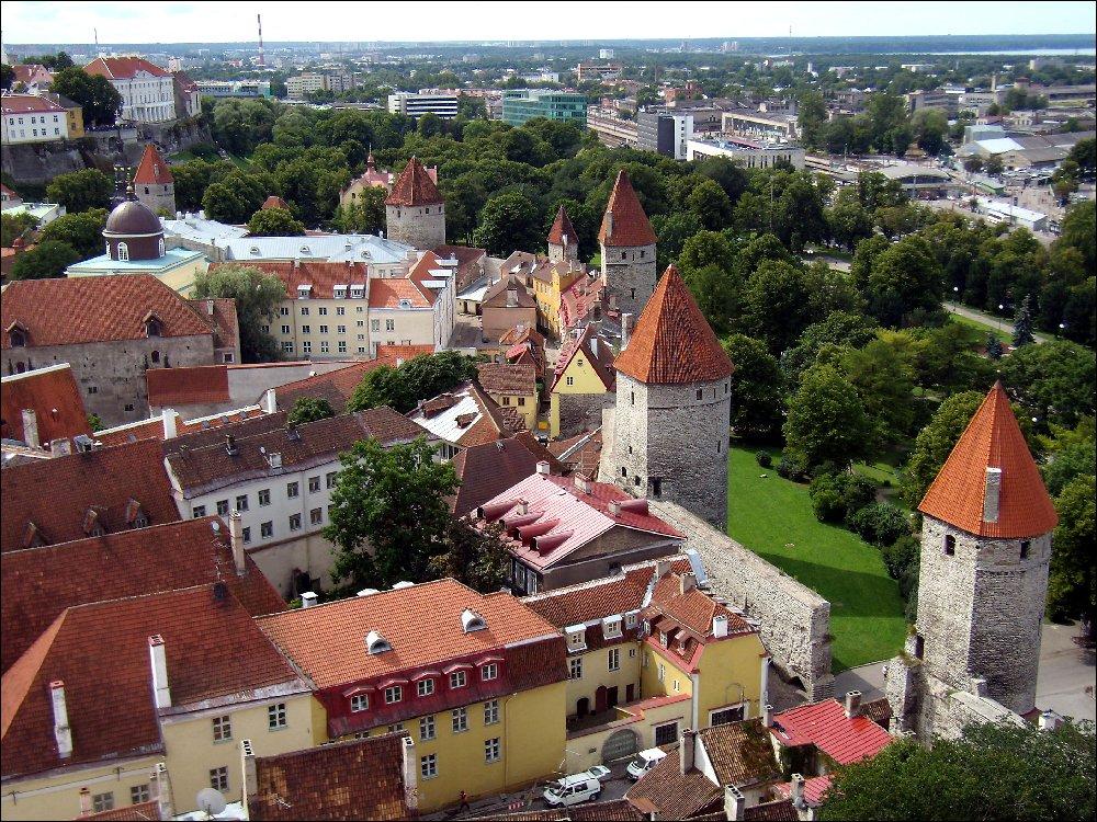 Vista dal campanile della St. Olav`s
