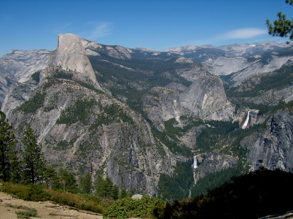 Yosemite Np, visto da Glacier Point