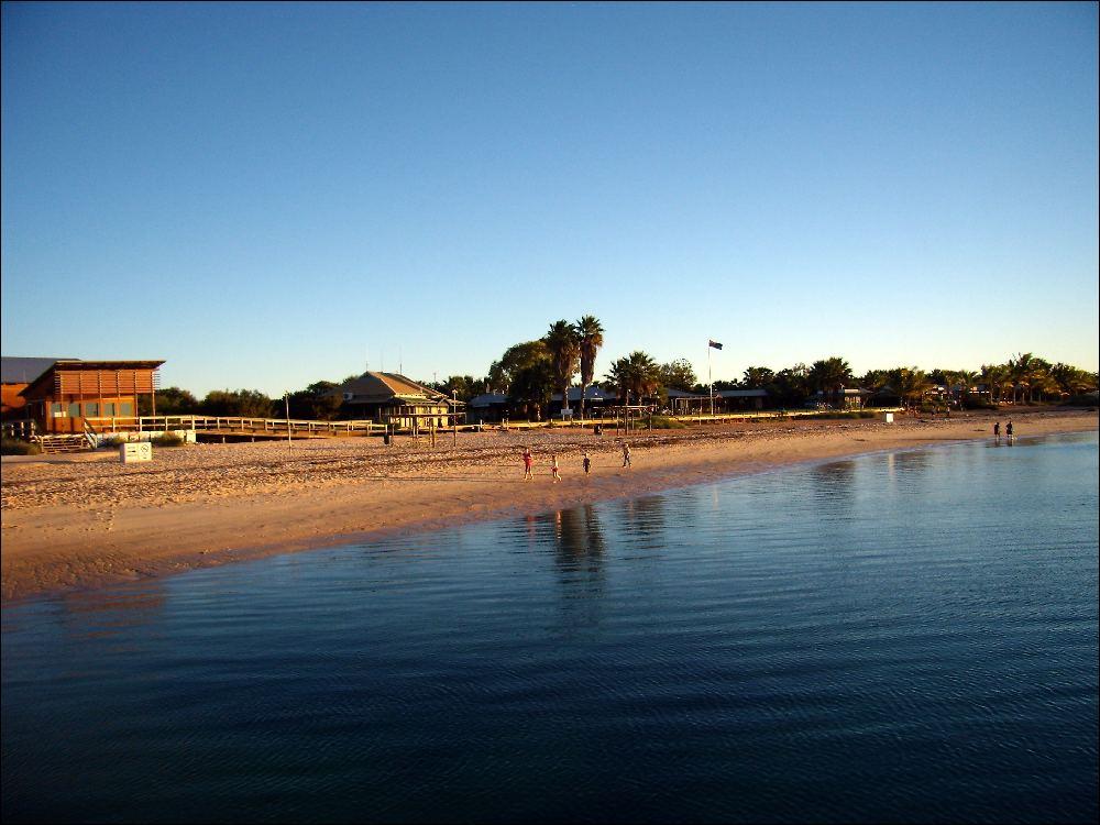 La spiaggia di Monkey Mia
