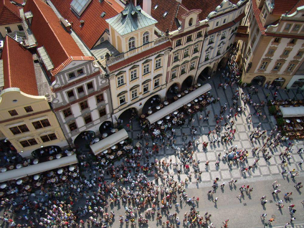 Vista dalla torre del Municipio della Città Vecchia