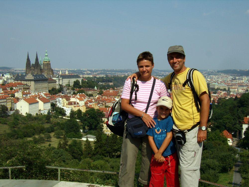 Praga vista da Petrin
