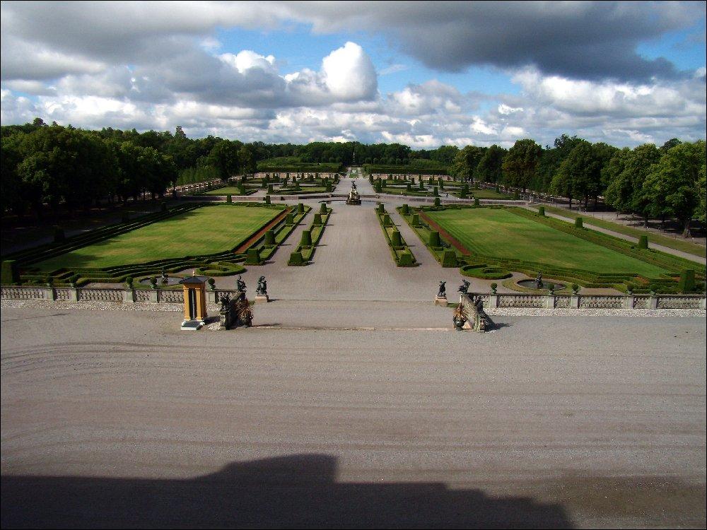 Drottingholm, i giardini del palazzo