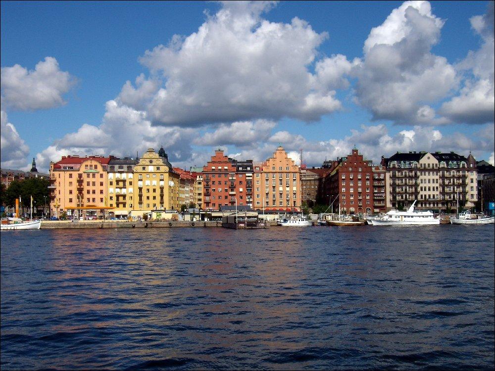 Navigazione a Stoccolma