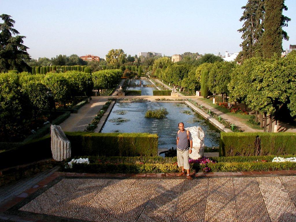 Cordoba, i giardini dell'Alcazar