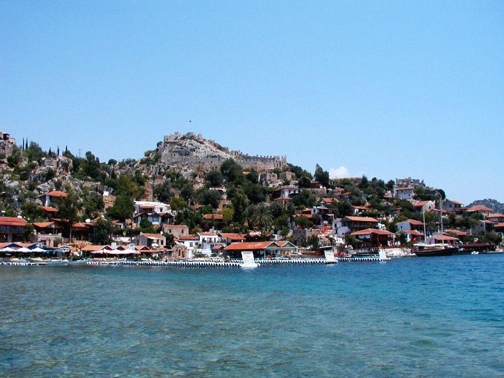 Isola di Kekova, il mare