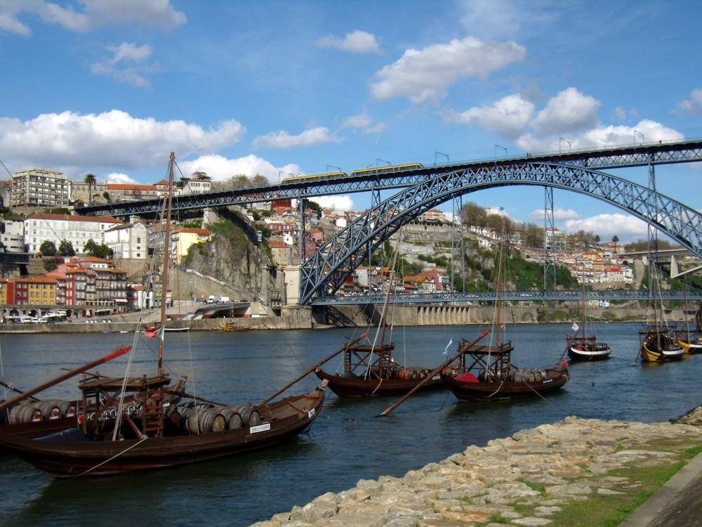 Douro e ponte Dom Luis