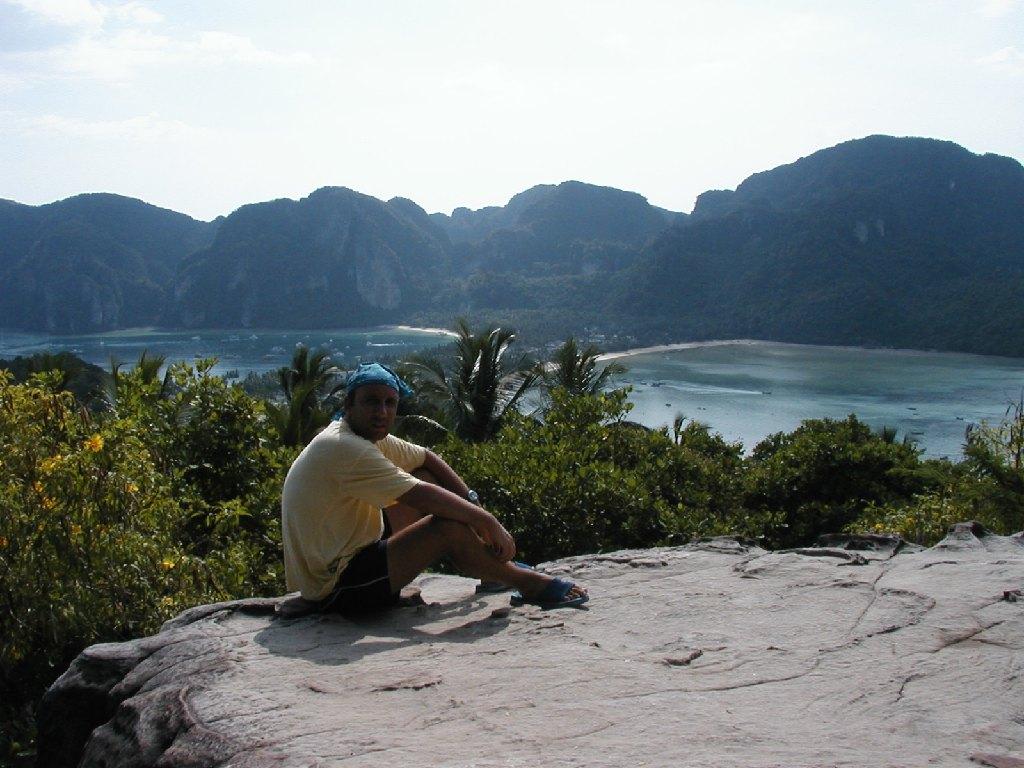 Phi Phi Island, vista dalla collina