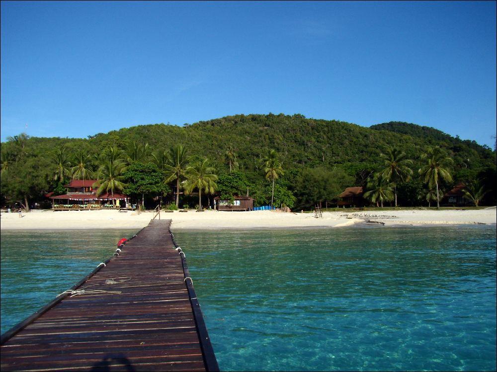 La spiaggia del Coral Redang Resort